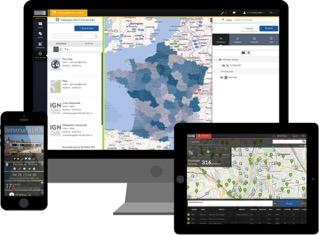 Les solutions Business Geografic sont ergonomiques, innovantes, puissantes. Elles sont l'alternative pérenne à Google Maps Engine pour créer soi-même des cartes et applications cartographiques web riches de sens, à partir de tous les formats de données normalisés et pour tous types de besoins métier et grand public. Elles s'adressent à tous : géomaticiens experts et novices, professionnels du géo-marketing, décideurs, statisticiens, agences de communication, etc.