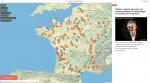 La première carte de France des victimes de pesticides