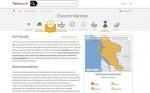 RISQUES NATURELS : Une application web de couverture mondiale