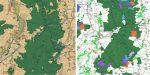 L'IGN lance la carte 'Occupation du sol historique' sur quatre départements : le Finistère, les Côtes d'Armor, le Nord et l'Allier