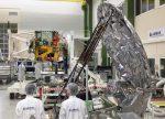 EarthCARE : première rencontre du radar japonais et de son satellite dans les locaux d'Airbus à Friedrichshafen