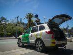 Pollution de l'air en Google Car