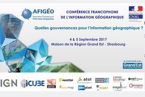 Conférence francophone de l'information géographique