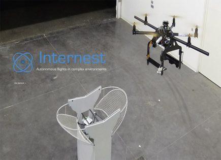 Internest crée son propre système de positionnement pour drone.