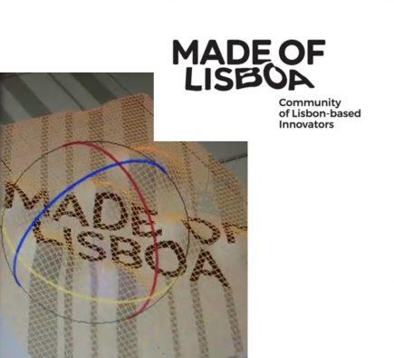 Made of Lisboa : un logo qui s'appuie sur le relief pour évoquer l'écosystème des start-up