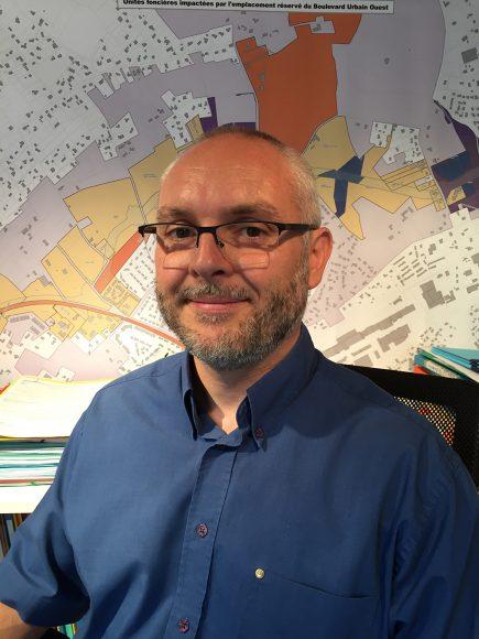 Jonathan Sidgwick, aujourd'hui responsable SIG à l'agglomération de Montauban