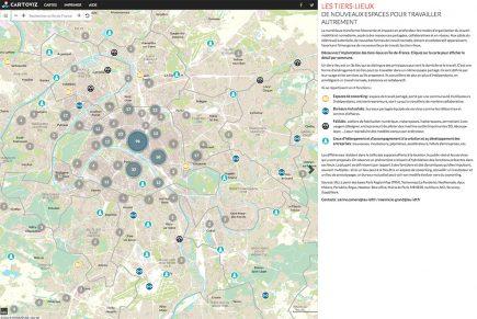Les tiers-lieux foisonnent (fablabs, espaces de coworking, incubateurs, pépinières…) mais essentiellement dans Paris intramuros.