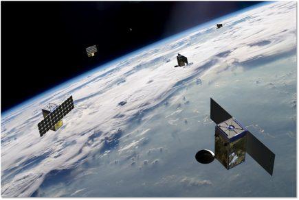 Pour l'instant, seuls 4 des 60 satellites de BlackSky sont en orbite. Thales participera à la construction de la constellation.