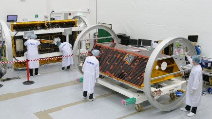 The Gravity Recovery and Climate Experiment Follow-on (GRACE-FO) mission is a partnership between NASA and the German Research Centre for Geosciences (GFZ). GRACE-FO is a successor to the original GRACE mission, which began orbiting Earth on March 17, 2002. GRACE-FO will carry on the extremely successful work of its predecessor while testing a new technology designed to dramatically improve the already remarkable precision of its measurement system. The GRACE missions measure variations in gravity over Earth's surface, producing a new map of the gravity field every 30 days. Thus, GRACE shows how the planet's gravity differs not only from one location to another, but also from one period of time to another. Airbus Defence and Space (Friedrichshafen/Germany) is the industrial prime contractor to build the satellites.