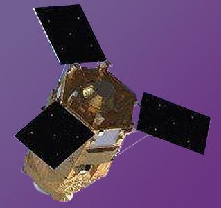 Le satellite Mohammed VI-A, vue d'artiste (© Airbus)