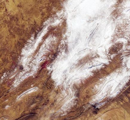 Image contenant des données Sentinel (2018). Traitements ESA. Licence CC BY-SA 3.0 IGO