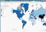 Journée mondiale sans Facebook – Esri dévoile la carte de l'utilisation de Facebook dans le monde