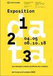 Exposition 1,2,3 DATA : les données comme matériau de création