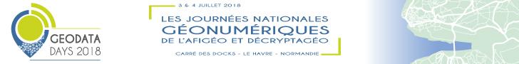 Bannière GeoDataDays 2018