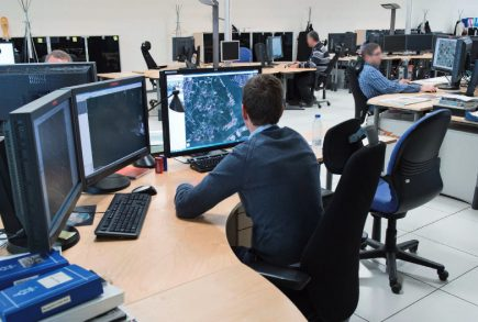 Le centre opérationnel du SatCen