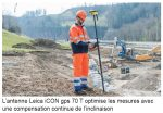 Leica Geosystems introduit sur le marché une antenne GNSS de pointe pour la construction.