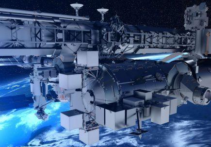 La plateforme Bartolomeo (© Airbus)