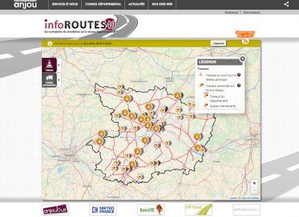 Le module d'information sur le trafic routier