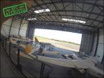 Photographie aérienne : Accident d'avion chez IMAO
