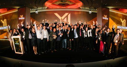 """Les Lauréats 2018 du concours """"Year in infrastructure"""" organisé par Bentley Systems"""