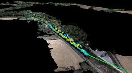 Distances entre lignes et végétation (Crédit photo Delair)