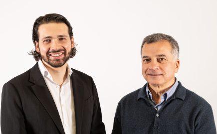 Jean-Thomas Célette, directeur général et Gilles Labossière, CEO de SenseFly