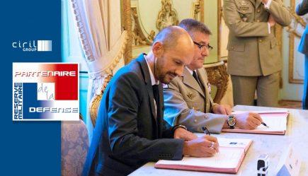 Les réservistes montrent l'exemple de l'engagement personnel au service de l'utilité publique ; Ciril GROUP a signé une convention avec le Ministère des Armées pour encourager ses propres salariés-réservistes dans leur démarche civique.