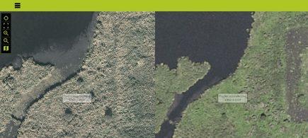 La Loire-Atlantique vue du ciel en 2012 puis en 2017, avec des photographies aériennes bien plus détaillées.