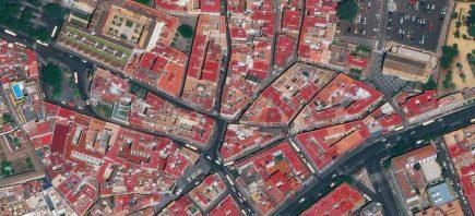 Séville sous l'œil de WorldView 4 (© DigitalGlobe)