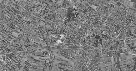 Les champs de Villetaneuse en 1949 (© IGN)