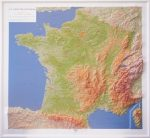 L'IGN sort la nouvelle carte Relief de la France