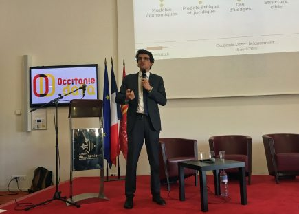 Bertrand Monthubert, le président de la toute nouvelle Occitanie Data est également le président d'OPenIG, preuve que l'information géographique sera au cœur du dispositif.