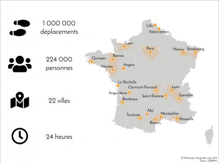 Le Mobiliscope couvre maintenant 22 villes françaises