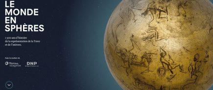 Le Monde en sphères, une exposition à la BnF du 15 avril au 21 juillet 2019
