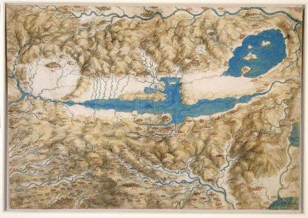 La carte du Valdichiana