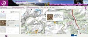 Site web public, il présente l'offre de randonnée aux visiteurs et leur permet, notamment, de rechercher leur itinéraire de promenade.