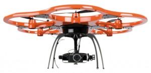 Les multicopters d'Aibotix peuvent désormais embarquer une charge utile de 3 kg. De quoi exploiter des capteurs de plus en plus sophistiqués. (© Aibotix)