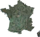 La France en 2014 vue par SPOT 6  © IGN / Airbus Defence & Space