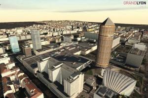 Sur la nouvelle plateforme open data de la métropole lyonnaise, sont désormais accessibles l'ensemble des bases de données 3D des 58 communes et 9 arrondissements en format CityGML, sous licence ouverte Etalab
