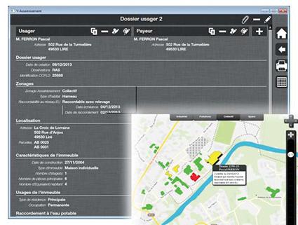 Ypresia, un éditeur de logiciels dans le domaine de l'eau et de l'assainissement, s'appuie sur le flux INSPIRE du cadastre diffusé par GéoBretagne pour aider ses clients à localiser précisément leurs installations.