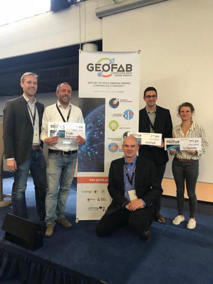 Les Lauréats du 3ème Géofab du Grand Genève