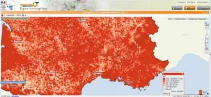 Dans le Sud, des communes de grande taille