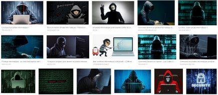 Première page des résultats sur la recherche « pirate informatique » sur Google Images !