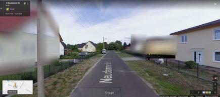 En Allemagne, Google Street View n'est pas disponible partout et beaucoup d'adresses sont floutées...