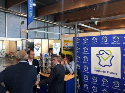 Hôte des GeoDataDays 2019, la région Hauts-de-France en a profité pour lancer sa nouvelle plateforme Geo2France. Xavier Bertrand, président de la région a eu droit à sa petite démo !
