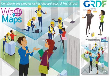 La GeoFactory de GRDF, une autre façon de positionner et de parler de l'information géographique dans l'entreprise