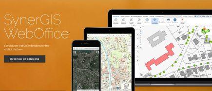 Avec sa gamme WebOffice et GeoOffice, SynerGIS apportent des compléments à VertiGIS.