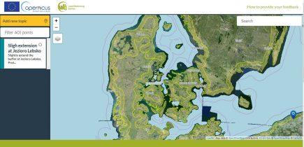 Cliquez sur l'image pour accéder à l'interface de proposition des zones concernées