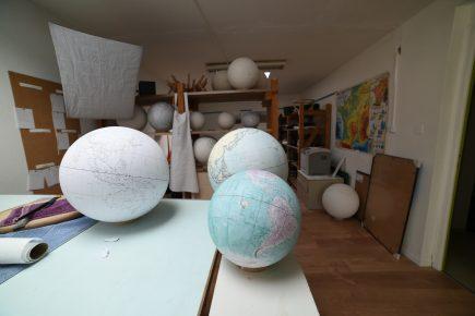 Alain Sauter installe son atelier dans sa maison à Besançon