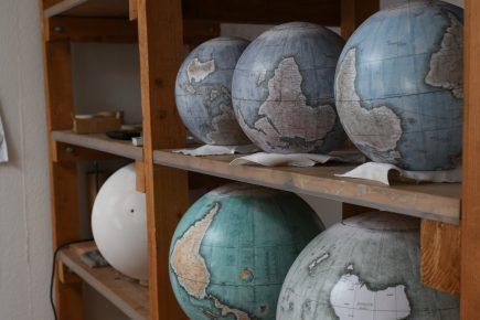 Couleurs, taille, orientation... chaque globe est personnalisable